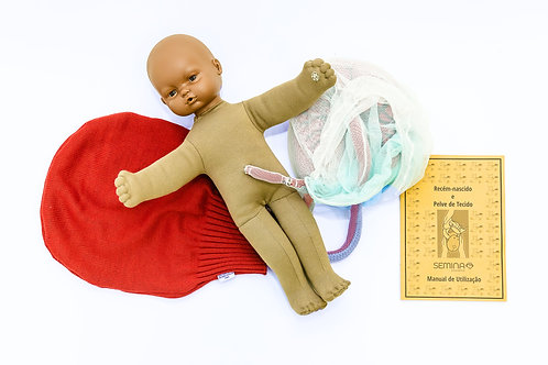 Recém Nascido - Bebê Etnia Negra
