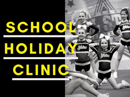 September/October Holiday Clinics