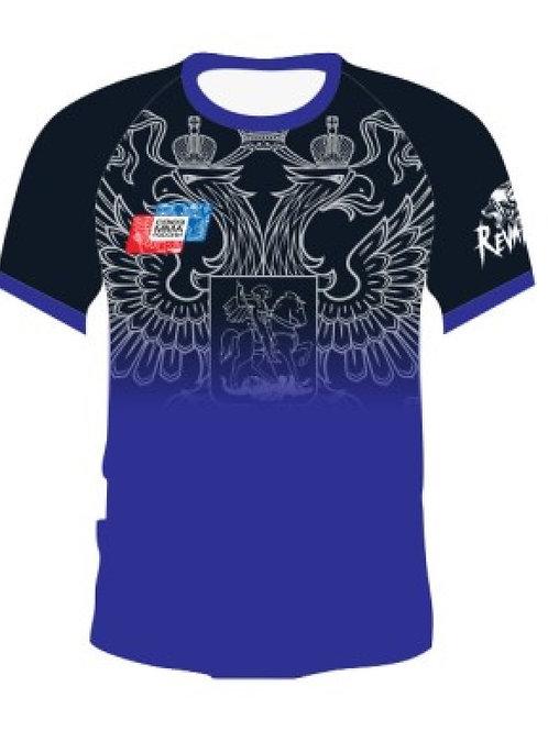 Рашгард союз ММА с коротким рукавом, RSG002BU, синий