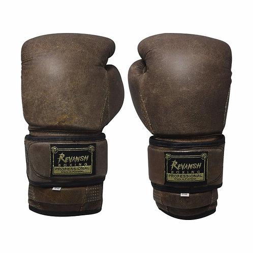 Боксерские перчатки REVANSH, Cracker, коричневый, натуральная кожа