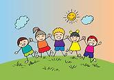 cartoon-happy-kids-playing-together-cartoon-happy-kids-playing-together-holding-hand-kids-