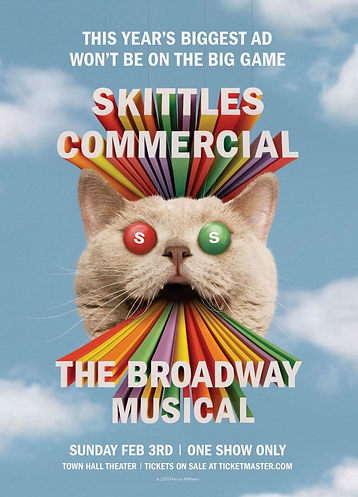 """Skittles Merged Theater and Advertising to Create a Weirdly Wonderful Super Bowl Musical."" - Adweek"