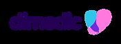 Dimedic Logo Colour - Horizontal bez tła