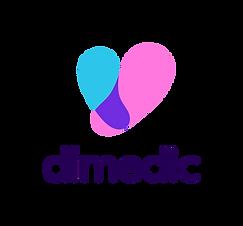 Dimedic Logo Colour - Vertical beztła.pn