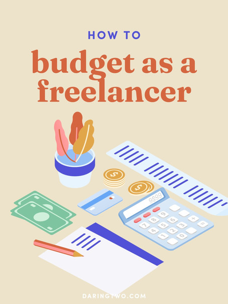 How to budget as a freelancer