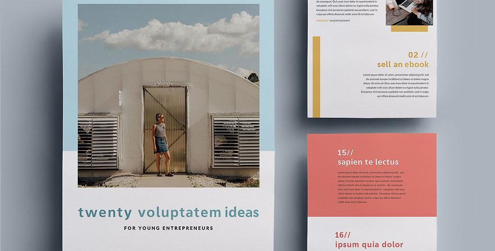C1 • TWENTY IDEAS EBOOK TEMPLATE