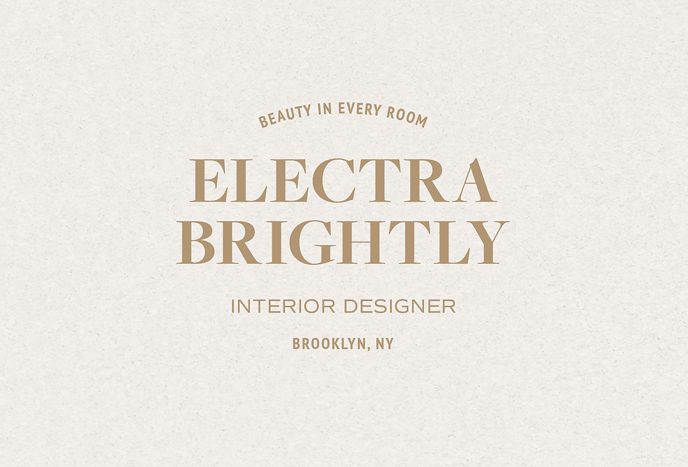 Logo Set • Electra Brightly