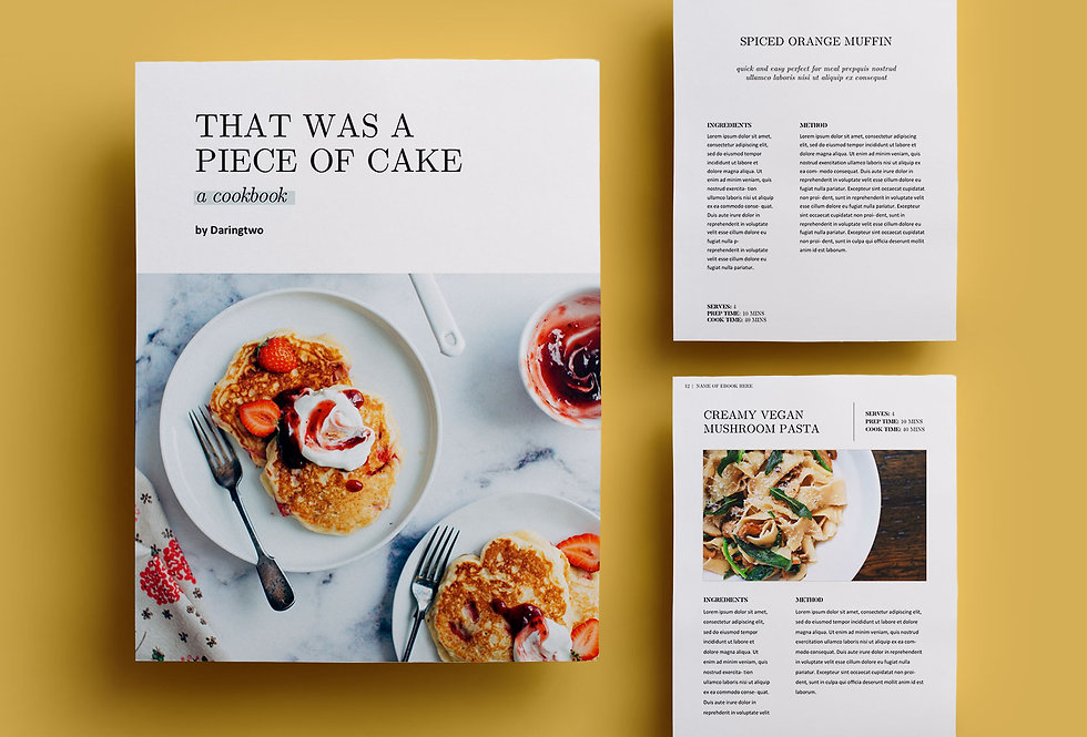 R2 • RECIPE EBOOK TEMPLATE