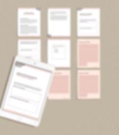 Workbook worksheet and calendar