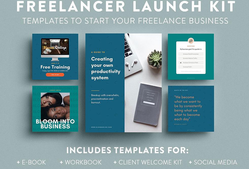 Freelancer Launch Kit  ●  FLK01