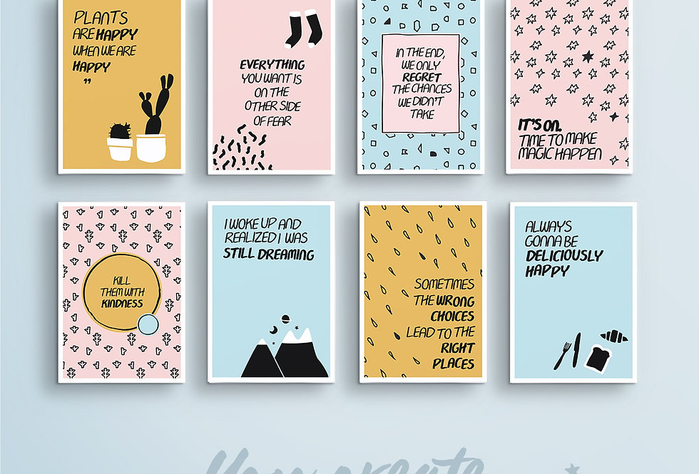 Sunny Dae Pack - Vision Board Card Printables