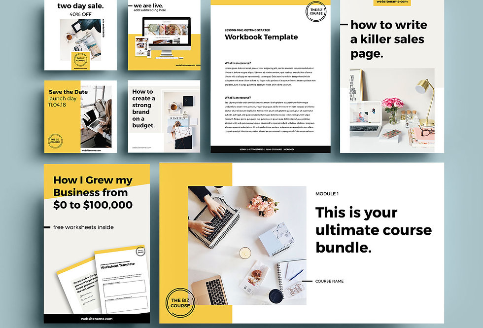 C2 • ULTIMATE BOLD COURSE BUNDLE