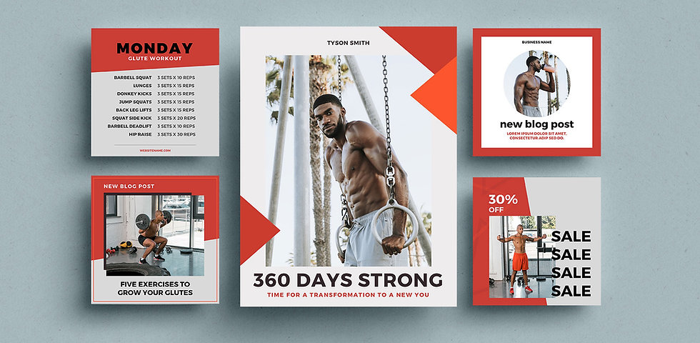 G1 Online Fitness Business Kit
