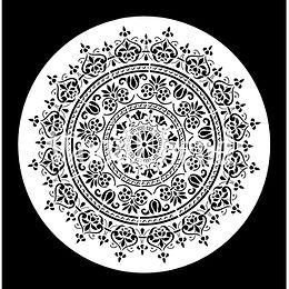 """Mandala"" kl. - Posh Chalk Stencil"