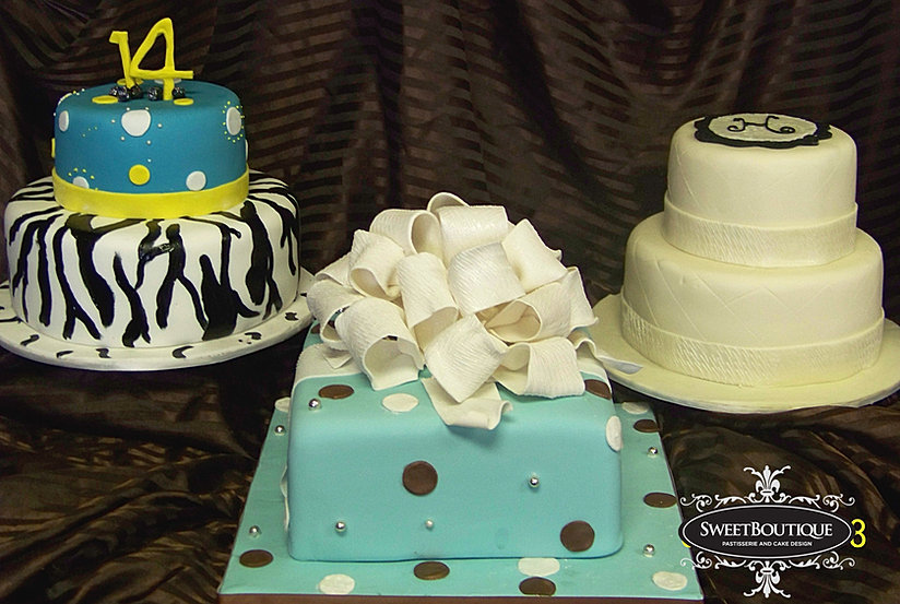 Custom Cakesbakeriesfayettevillesweet Boutique