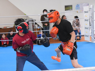 スポ探〈ウインター⑧〉ボクシング探検