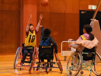 【探検日記(ウインター⑦】車いすバスケットボール探検