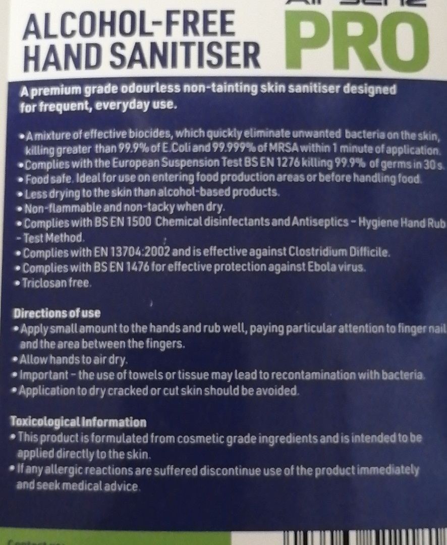 Anti Bacterial child friendly Hand sanit