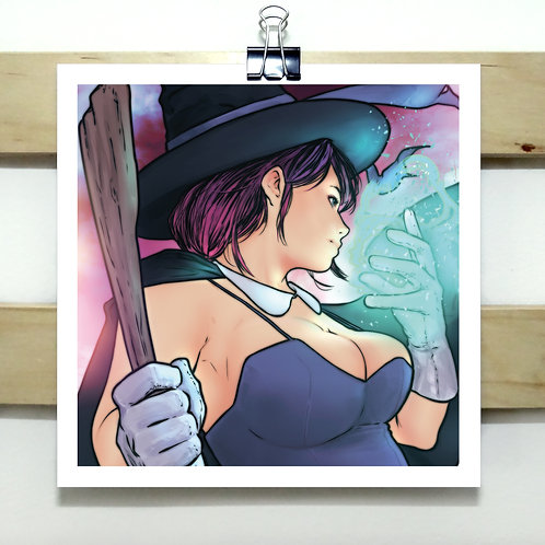 Sorceress - Square Print