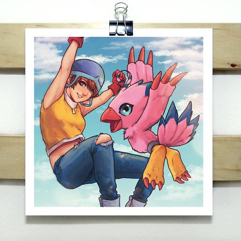 Sora - Square Print