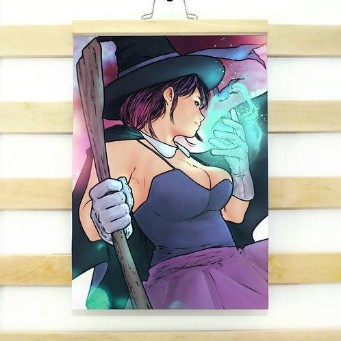 Sorceress - A3 Print