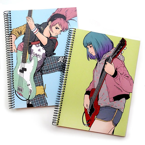 Sheena and Judy Notebooks (set of 2)