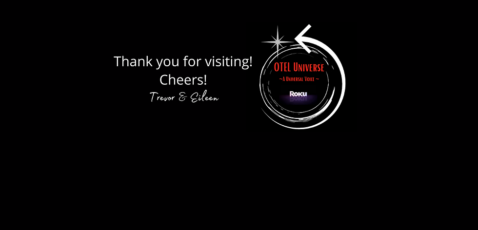 Thank you for visiting! Cheers! Trevor &