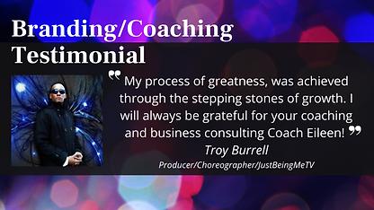 _BrandingCoaching Testimonial - Troy Bur