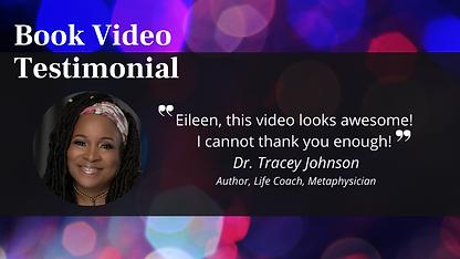 Book Video Testimonial - Tracey Johnson