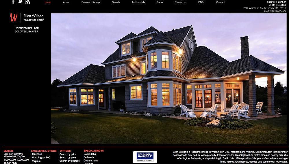 Custom Website Design - Wix Pro Designers - East Coast Website Design - Real Estate Website Design