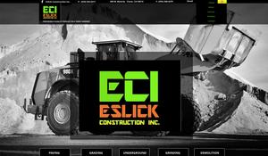 Eslick Construction - Clovis Website Design