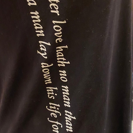 New John 15:13 Performance Shirt