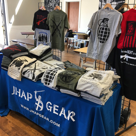 JHAP Gear Behind The Scenes At Events
