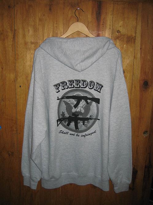 Freedom Pullover Hoodie Sweatshirt