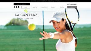 Custom Website Design - North Bay Website Design - Tennis Club Website Design