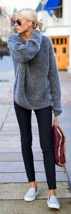 Jeans & Soft Sweater