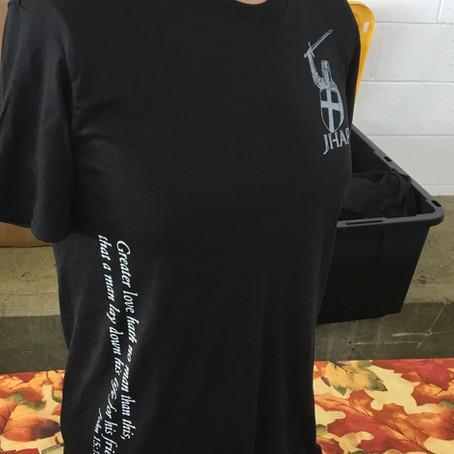 JHAP Gear John 15:13 Moisture Wicking Shirt