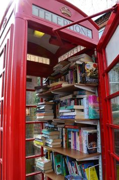 Classic Telephone Book Booth