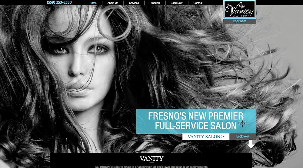 Custom Website Design - Fresno Website Design - Fresno Web Design - Salon Website Design - Salon Web Design