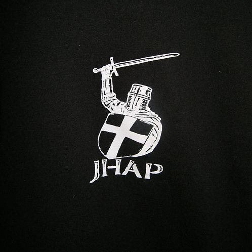 JHAP Logo White Vinyl Sticker