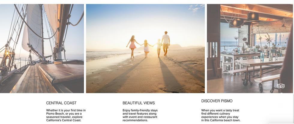 Pismo Suites - Professional Website Desi