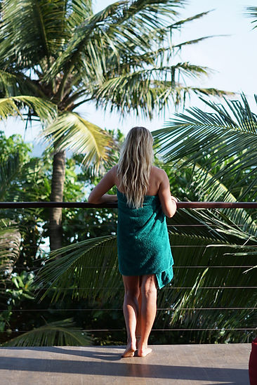 Sri Lanka - Handtuch Balkon.JPG