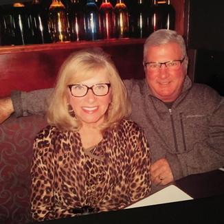 Anniversary celebration with my guy.