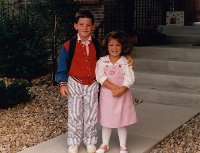 Love this oldie but goodie! Andy age 6 and Katie age 3 1/2. It goes fast.