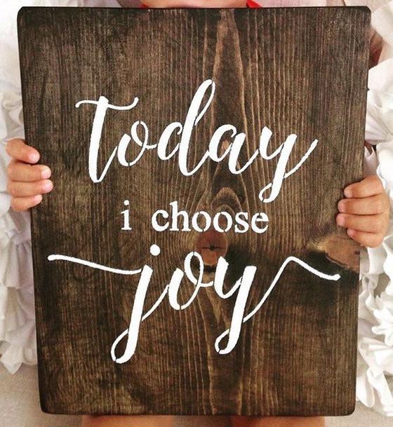 Speak Life, Choose Joy