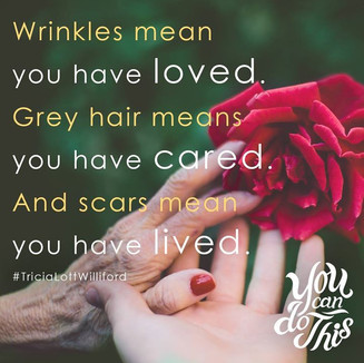 You CAN Do This...A LIFE changing book by my friend, Tricia Lott Williford Heyer. Please drop everything and go get a copy now!