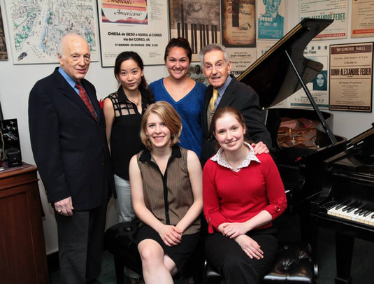 With collaborative artists at the Stecher and Horowitz Foundation Young Artist Piano Competition