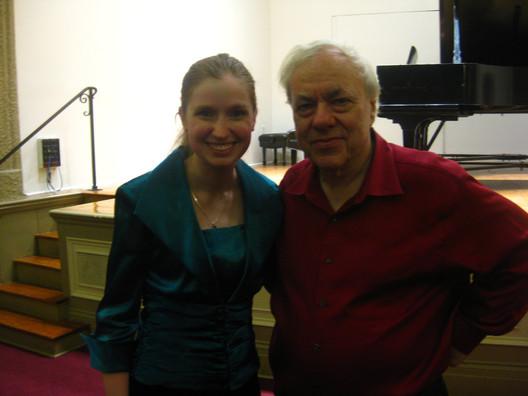 With Richard Goode