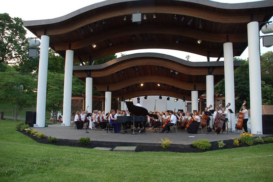 Gershwin's Rhapsody in Blue at Rose Tree Park with the Delaware County Symphony