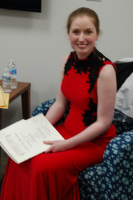 In the Green Room before Beethoven 2nd Piano Concerto